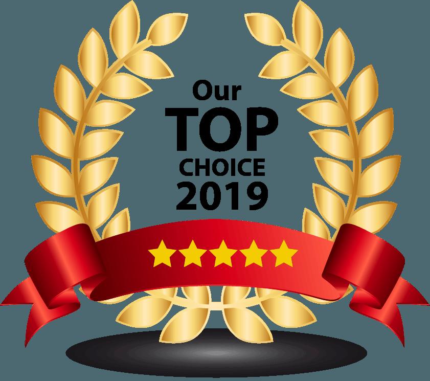 Top Choice 2019 Banner