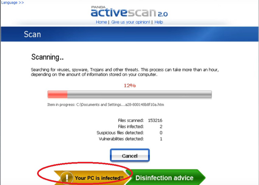 Online Antivirus In Action