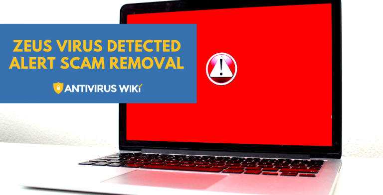 Zeus Virus Detected Alert Scam Removal