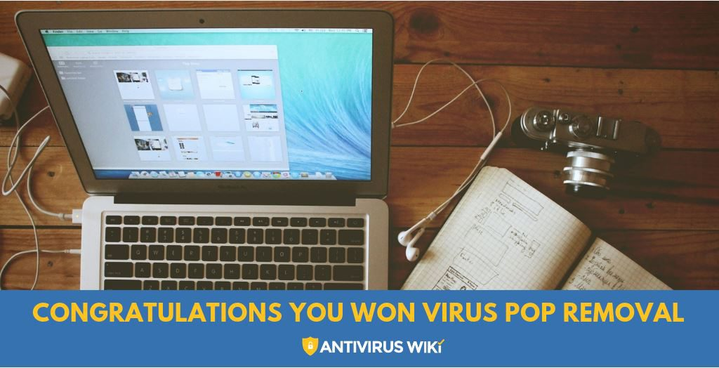 Congratulations You Won Virus Pop Removal