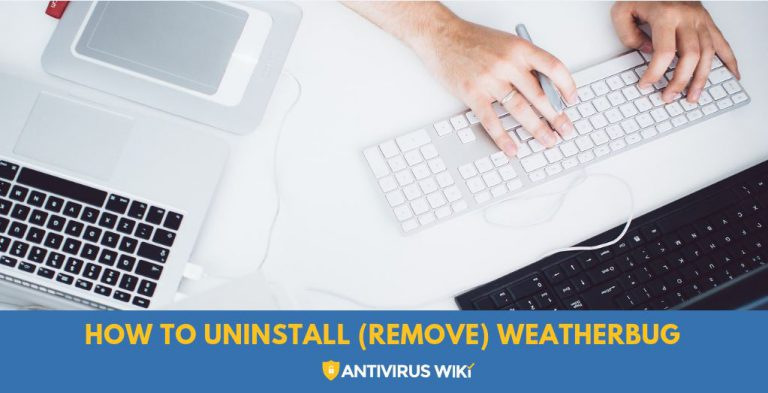 How to uninstall (remove) WeatherBug